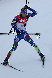 10.03.2016, Holmenkollen, Oslo, NOR, IBU Weltmeisterschaft Biathlion, Oslo, 20km, Herren, im Bild Simon Desthieux (FRA) // during Mens 20km individual Race of the IBU World Championships, Oslo 2016 at the Holmenkollen in Oslo, Norway on 2016/03/10. EXPA Pictures © 2016, PhotoCredit: EXPA/ Newspix/ Tomasz Jastrzebowski<br /> <br /> *****ATTENTION - for AUT, SLO, CRO, SRB, BIH, MAZ, TUR, SUI, SWE only*****