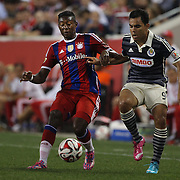 David Alaba, FC Bayern Munich, in action during the FC Bayern Munich vs Chivas Guadalajara, Audi Football Summit match at Red Bull Arena, New Jersey, USA. 31st July 2014. Photo Tim Clayton