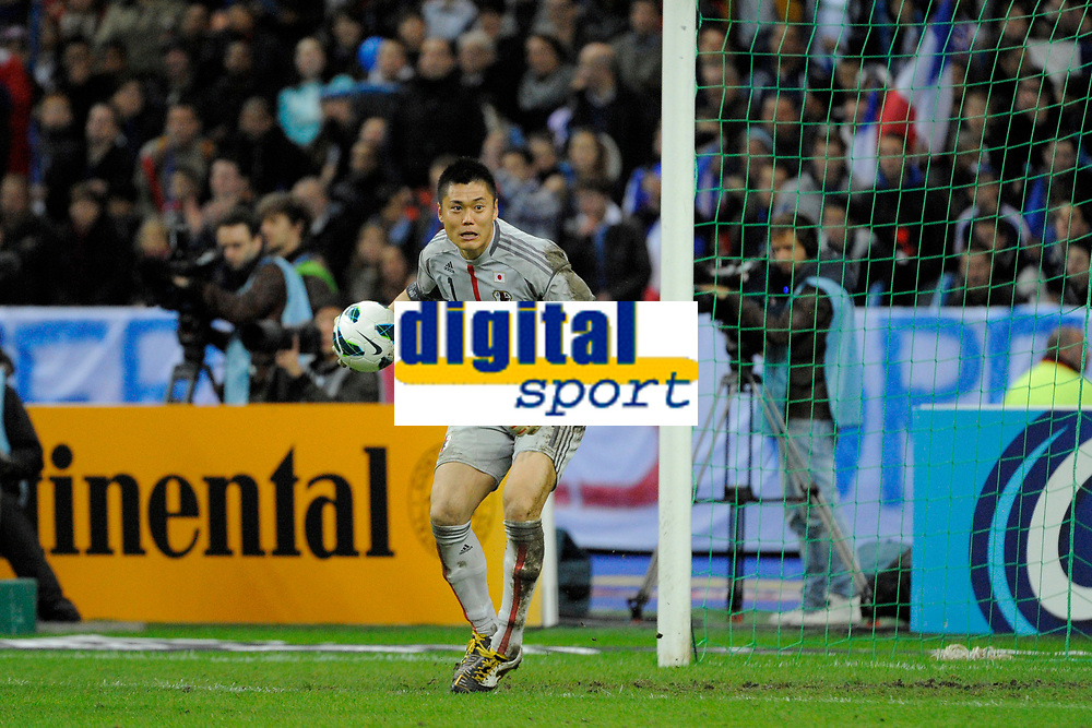 FOOTBALL - FRIENDLY GAME 2012 - FRANCE v JAPAN - STADE DE FRANCE ( SAINT DENIS ) FRANCE - 12/10/2012 - PHOTO JEAN MARIE HERVIO / REGAMEDIA / DPPI - EIJI KAWASHIMA (JAP)