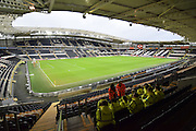 Hull Citys KC stadium before the The FA Cup match between Hull City and Brighton and Hove Albion at the KC Stadium, Kingston upon Hull, England on 9 January 2016. Photo by Ian Lyall.