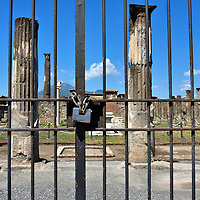 Temple of Apollo in Pompeii, Italy<br />