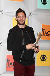 Thomas Rhett, at the 2016 Academy of Country Music Awards Press Room, MGM Grand Garden Arena, Las Vegas, NV 04-03-16. EXPA Pictures © 2016, PhotoCredit: EXPA/ Photoshot/ Martin Sloan<br /> <br /> *****ATTENTION - for AUT, SLO, CRO, SRB, BIH, MAZ, SUI only*****