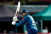 England ODI batsman James Vince with a shot to leg  during the 3rd Royal London ODI match between England and India at Headingley Stadium, Headingley, United Kingdom on 17 July 2018. Picture by Simon Davies.
