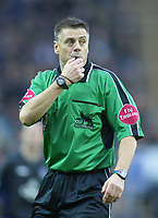 18/12/2004 - FA Barclays Premiership - Blackburn Rovers v Everton - Ewood Park<br />Referee Mark Halsey<br />Photo:Jed Leicester/Back Page Images