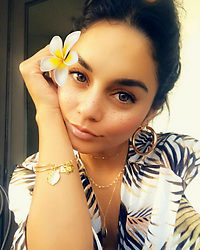 """Vanessa Hudgens releases a photo on Instagram with the following caption: """"96% of wold tigers have disappeared in the last century as a result of habitat loss, poaching and conflict with humans. @alexandani has partnered up with @discovery #projectcat and donating 20% of the purchase to  ensure future generations of tigers. Happy #globaltigerday"""". Photo Credit: Instagram *** No USA Distribution *** For Editorial Use Only *** Not to be Published in Books or Photo Books ***  Please note: Fees charged by the agency are for the agency's services only, and do not, nor are they intended to, convey to the user any ownership of Copyright or License in the material. The agency does not claim any ownership including but not limited to Copyright or License in the attached material. By publishing this material you expressly agree to indemnify and to hold the agency and its directors, shareholders and employees harmless from any loss, claims, damages, demands, expenses (including legal fees), or any causes of action or allegation against the agency arising out of or connected in any way with publication of the material."""