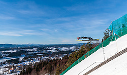 18.03.2018, Vikersundbakken, Vikersund, NOR, FIS Weltcup Ski Sprung, Raw Air, Vikersund, Finale, im Bild Manuel Fettner (AUT) // Manuel Fettner of Austria during the 4th Stage of the Raw Air Series of FIS Ski Jumping World Cup at the Vikersundbakken in Vikersund, Norway on 2018/03/18. EXPA Pictures © 2018, PhotoCredit: EXPA/ JFK