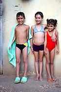 Children in Bariay, Holguin, Cuba.