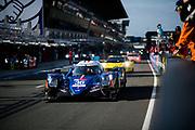 June 16-17, 2018: 24 hours of Le Mans. 36 Signatech Alpine Alpine A470-Gibson, Nicolas Lapierre, Andre Negrao, Pierre Thiriet