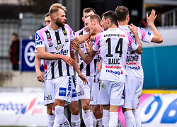 23.02.2020, TGW Arena, Pasching, AUT, 1. FBL, LASK vs SKN St. Poelten, 20. Runde, im Bild Der LASK feiert das 4 zu 1 durch Stefan Haudum (LASK) // during the tipico Bundesliga 20th round match between LASK and SKN St. Poelten at the TGW Arena in Pasching, Austria on 2020/02/23. EXPA Pictures © 2020, PhotoCredit: EXPA/ Reinhard Eisenbauer