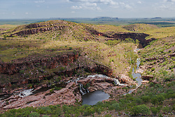Country near the Carr-Boyd Range in the Kimberley wet season.