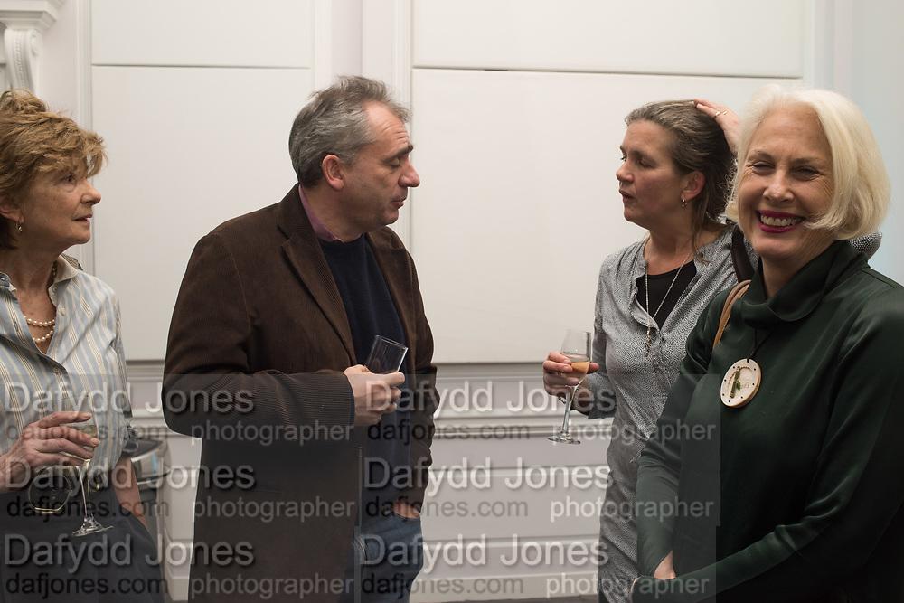 Rachel Kelly celebrates the publication of ' Singing In the Rain' An Inspirational Workbook. 20 Cavendish Sq. London W1. 17 January 2019.