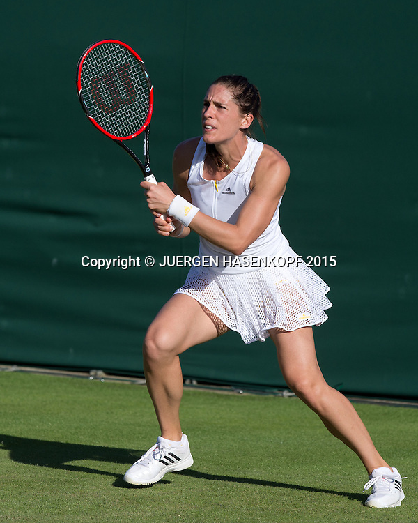 Andrea Petkovic (GER)<br /> <br /> Tennis - Wimbledon 2015 - Grand Slam ITF / ATP / WTA -  AELTC - London -  - Great Britain  - 29 June 2015.