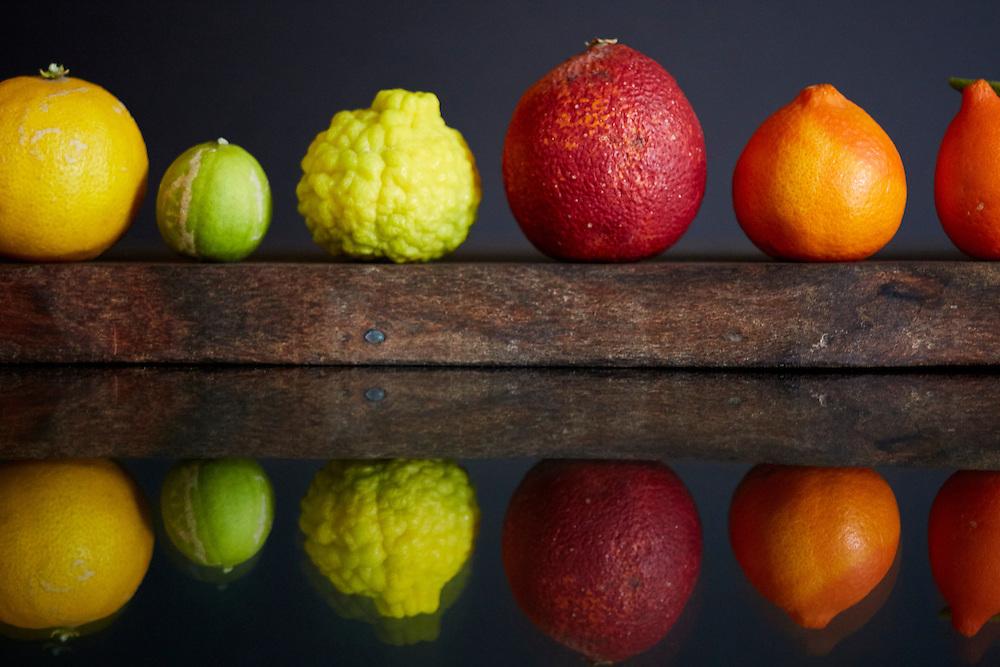 limes, quats, blood orange