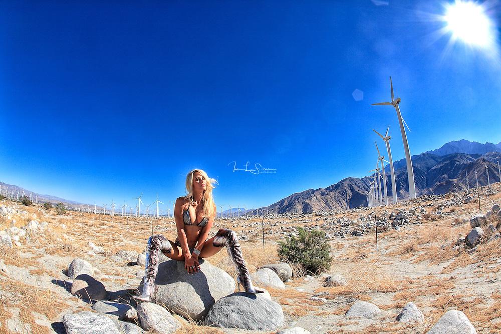 Sherry Goggin In The Desert