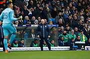 Cardiff City assistant manager Kevin Blackwell during the EFL Sky Bet Championship match between Leeds United and Cardiff City at Elland Road, Leeds, England on 3 February 2018. Picture by Paul Thompson.