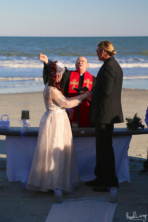 Garden City Beach Wedding