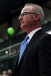 21 February 2015:  John Baines during an NCAA men's division 3 CCIW basketball game between the Elmhurst Bluejays and the Illinois Wesleyan Titans in Shirk Center, Bloomington IL