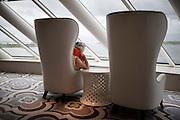 BALI, INDONESIA JAN 2015;<br />emergency evacuation drill on board of the Chrystal Symphony Cruise docked in the Harbour in Bali, Indonesia, Jan 2015<br />@Giulio Di Sturco