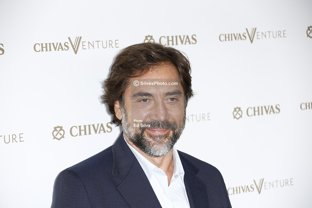 LOS ANGELES, CA - JULY 13 Javier Bardem attends the Chivas Regal Venture - The Final Pitch at LADC Studios in Los Angeles, California on July 13, 2017 in Los Angeles, California. Byline, credit, TV usage, web usage or linkback must read SILVEXPHOTO.COM. Failure to byline correctly will incur double the agreed fee. Tel: +1 714 504 6870.
