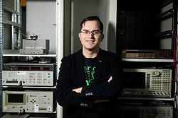 Portrait of doc. dr. Marko Jankovec, III. Katedra za elektroniko, Laboratorij za fotovoltaiko in optoelektroniko, on December 19, 2019 in Fakulteta za elektrotehniko, Univerza v Ljubljani, Slovenia. Photo by Vid Ponikvar/ Sportida