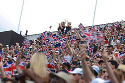 Britisch supporters<br /> Olympic Games London 2012<br /> © Dirk Caremans
