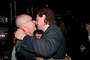 AGGI; MARCO PIERRE WHITE;; , launch of Fabulous Haircare Range, Frankie's Italian Bar and Grill, 3 Yeomans Row, off Brompton Road, London SW3, 7pm