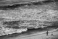 Beach Rendezvous, Jamestown District (monochrome)