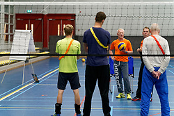 19-09-2019 NED: Trainers training, Amsterdam<br /> Two trainer trainings are being organized in Amsterdam in Sporthallen Zuid; a training for starting trainers (Rogier van Meggelen) and a training for VT2 / VT3 trainers by Allard Jongsma.