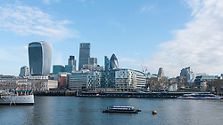 © Licensed to London News Pictures. 05/04/2016. London, UK. The City of London office is seen on the last day of the 2015/16 tax year, the last day when UK individuals can make contributions to tax efficient investments such as ISAs, many of which investments are managed in the City of London. Photo credit : Stephen Chung/LNP