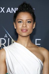 Gugu Mbatha-Raw at the Los Angeles premiere of 'A Wrinkle In Time' held at the El Capitan Theater in Hollywood, USA on February 26, 2018.