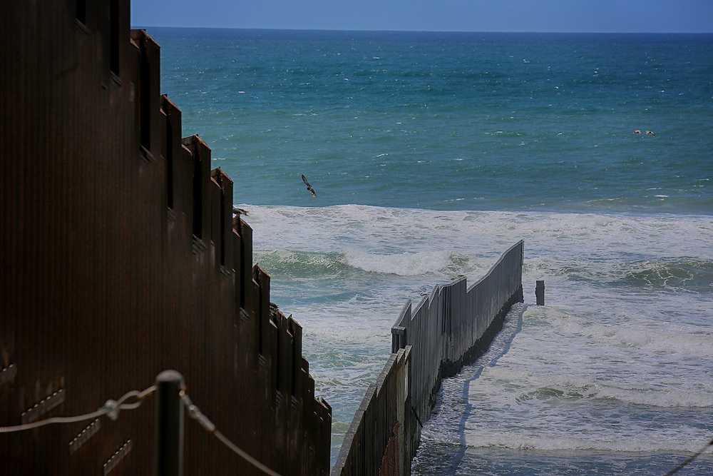SAN YSIDRO, CA-APRIL 30:  THe U.S.-Mexico Border fence on Saturday, April 30, 2016 at Friendship Park in San Ysidro, CA.(Photo by Sandy Huffaker for The Washington Post)