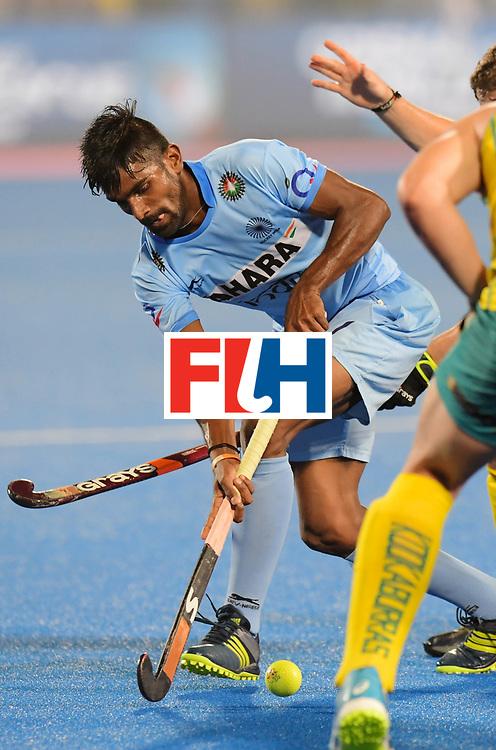 Odisha Men's Hockey World League Final Bhubaneswar 2017<br /> Match id:02<br /> Australia v India<br /> Foto: <br /> WORLDSPORTPICS COPYRIGHT FRANK UIJLENBROEK