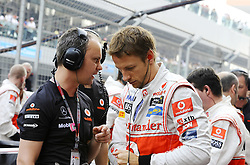 30.10.2011, Jaypee-Circuit, Noida, IND, F1, Grosser Preis von Indien, Noida, im Bild Jenson Button (GBR),  McLaren F1 Team // during the Formula One Championships 2011 Large price of India held at the Jaypee-Circui 2011-10-30  . EXPA Pictures © 2011, PhotoCredit: EXPA/ nph/ Dieter Mathis +++++ ATTENTION - OUT OF GERMANY/(GER), CROATIA/(CRO) +++++