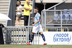 Nabil Touaizi of EDS Team Manchester City during the Pre-season Friendly match between NAC Breda and EDS Team Manchester City at Rat Verlegh stadium on August 04, 2018 in Breda, The Netherlands