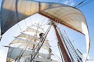 Caribbean Sea Cloud Sailing