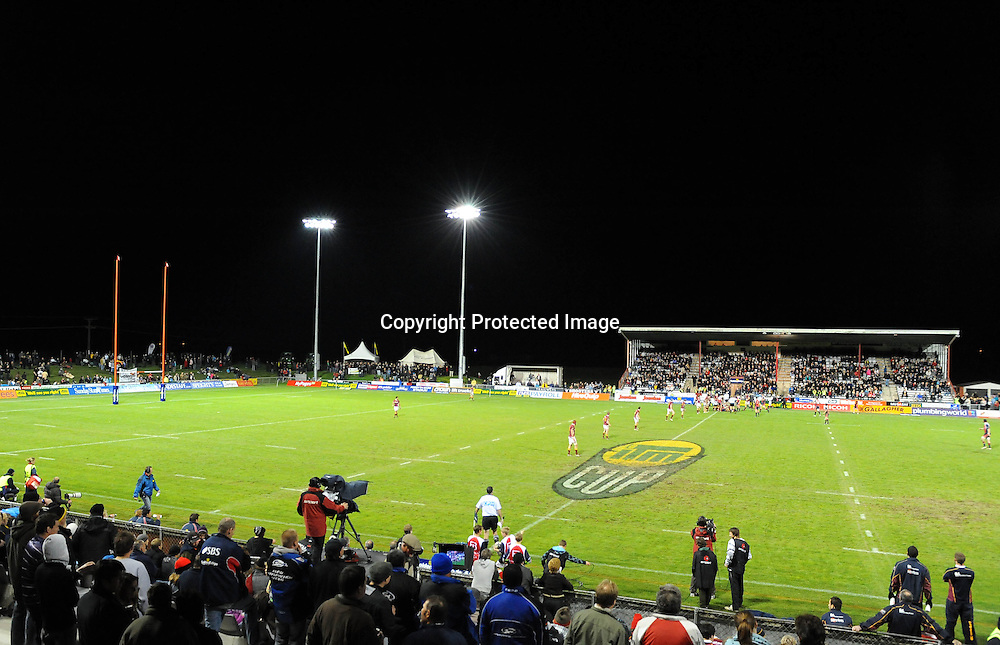 General view of Lansdowne Park during their ITM Cup - Tasman vs Southland at Lansdowne Park, Blenheim. Friday 27 August 2010. Nelson, New Zealand. Photo: Chris Symes/PHOTOSPORT