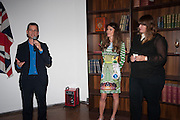 Matthew Slotover; Andrea Dibelius; Sarah McCrory , DINNER TO CELEBRATE THE ARTISTS OF FRIEZE PROJECTS AND THE EMDASH AWARD 2012 hosted by ANDREA DIBELIUS founder EMDASH FOUNDATION, AMANDA SHARP and MATTHEW SLOTOVER founders FRIEZE. THE FORMER CENTRAL ST MARTIN'S SCHOOL OF ART AND DESIGN, SOUTHAMPTON ROW, LONDON WC1. 11 October 2012