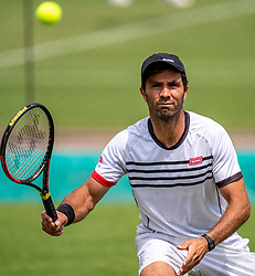 11-06-2019 NED: Libema Open, Rosmalen<br /> Grass Court Tennis Championships First round ATP / Robin Haase (NED) & Jean-Julien Rojer (NED)