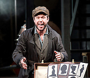 Ragtime <br /> Book by Terrence Mcnally <br /> Music by Stephen Flaherty <br /> Lyrics by Lynn Ahrens<br /> at Charing Cross Theatre <br /> Press photocall<br /> 14th October 2016<br /> directed by Thom Sutherland <br /> <br /> <br /> <br /> Gary Tushaw as Tateh<br /> <br /> <br /> <br /> Photograph by Elliott Franks <br /> Image licensed to Elliott Franks Photography Services