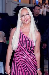 May 29, 2001; Modane, France; North America Sales ONLY! Fashion Designer DONATELLA VERSACE attends attends Pavarotti's concert in Modane..  (Credit Image: Remi Agency/ZUMAPRESS.com)