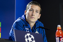 October 2, 2018 - Madrid, Spain - Club Brujas player Hans Vanaken during press conference the day before Group Stage UEFA Champions League match between Atletico de Madrid and Club Brujas at Wanda Metropolitano Stadium in Madrid, Spain. October, 2018. (Credit Image: © Coolmedia/NurPhoto/ZUMA Press)