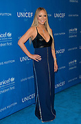 Mariah Carey arrives at the sixth biennial UNICEF Ball at the Beverly Wilshire Hotel in Los Angeles, California (Photo: Charlie Steffens)