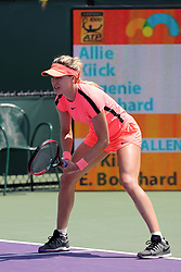March 19, 2018 - Key Biscayne, Florida, United States Of America - KEY BISCAYNE, FL - MARCH 19: Eugenie Bouchard at the Miami Open at Crandon Park Tennis Center on April 3, 2016 in Key Biscayne, Florida....People:  Eugenie Bouchard. (Credit Image: © SMG via ZUMA Wire)