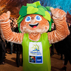 20121118: SLO, Basketball - Eurobasket Slovenia 2013 Draw ceremony in Postojna Cave