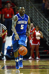 13 January 2012:  Josh Jones during an NCAA Missouri Valley Conference mens basketball game where the Creighton Bluejays topped the Illinois State Redbirds 87-78 in Redbird Arena, Normal IL