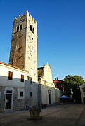 The old Church, Motovun (Montona) is a village in central Istria, Croatia.