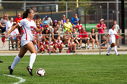 NORMAL, IL - August 10:  Megan McEachern during a nonconference exhibition women's soccer match between the Southern Illinois Edwardsville Cougars and the Illinois State Redbirds August 10 2019 on Adelaide Street Field in Normal IL (Photo by Alan Look)