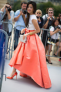 Dior Silk Skirt, Outside the Couture Show