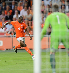 04-06-2014 NED: Vriendschappelijk Nederland - Wales, Amsterdam<br /> Nederland wint met 2-0 van Wales / Bruno Martins Indi