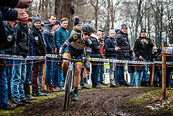 Lars van der Haar, NK Veldrijden Elite-Mannen en Beloften-Mannen / Dutch Championship Cyclocross Elite Men and U23 Men at Sint Michielsgestel, Noord-Brabant, The Netherlands, 8 January 2017. Photo by Pim Nijland / PelotonPhotos.com | All photos usage must carry mandatory copyright credit (Peloton Photos | Pim Nijland)